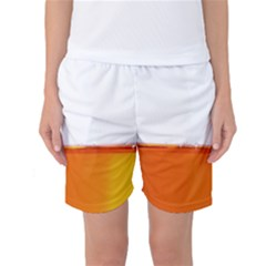 The Wine Bubbles Background Women s Basketball Shorts