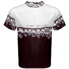 Bubbles In Red Wine Men s Cotton Tee