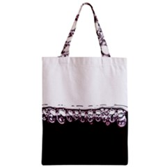 Bubbles In Red Wine Classic Tote Bag