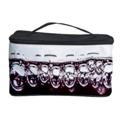 Bubbles In Red Wine Cosmetic Storage Case
