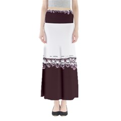 Bubbles In Red Wine Maxi Skirts