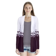 Bubbles In Red Wine Cardigans