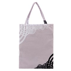 Circles Background Classic Tote Bag