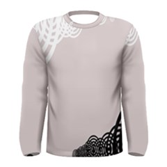 Circles Background Men s Long Sleeve Tee