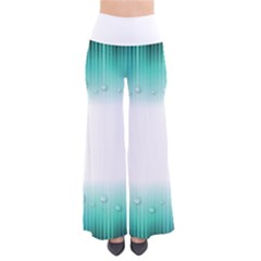 Blue Stripe With Water Droplets Pants