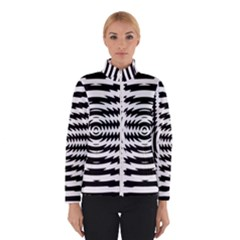 Black And White Abstract Stripped Geometric Background Winterwear