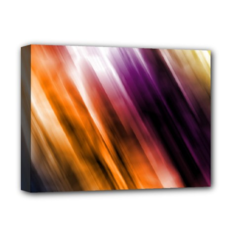 Colourful Grunge Stripe Background Deluxe Canvas 16  X 12
