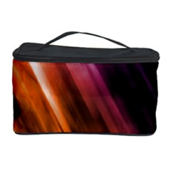 Colourful Grunge Stripe Background Cosmetic Storage Case