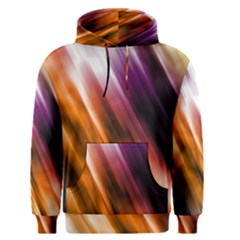 Colourful Grunge Stripe Background Men s Pullover Hoodie