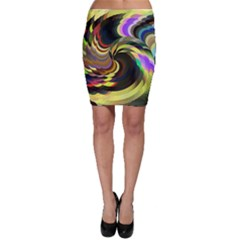 Spiral Of Tubes Bodycon Skirt