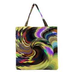 Spiral Of Tubes Grocery Tote Bag