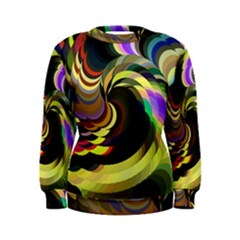 Spiral Of Tubes Women s Sweatshirt
