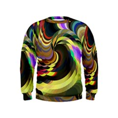 Spiral Of Tubes Kids  Sweatshirt