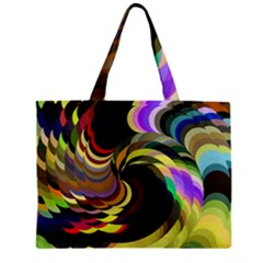 Spiral Of Tubes Zipper Mini Tote Bag