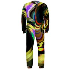 Spiral Of Tubes OnePiece Jumpsuit (Men)