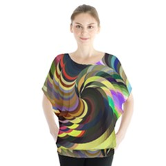 Spiral Of Tubes Blouse