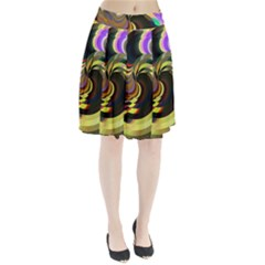 Spiral Of Tubes Pleated Skirt