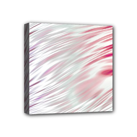 Fluorescent Flames Background With Special Light Effects Mini Canvas 4  x 4