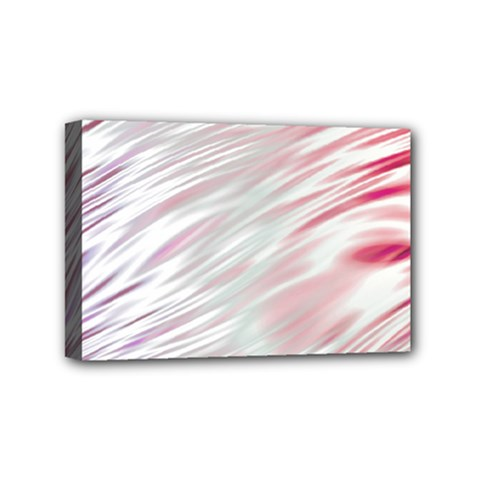 Fluorescent Flames Background With Special Light Effects Mini Canvas 6  x 4