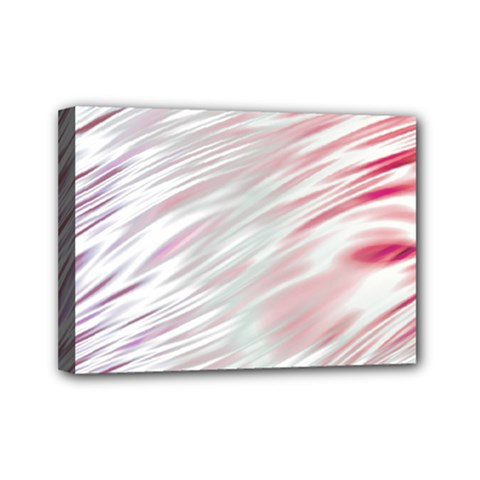 Fluorescent Flames Background With Special Light Effects Mini Canvas 7  X 5