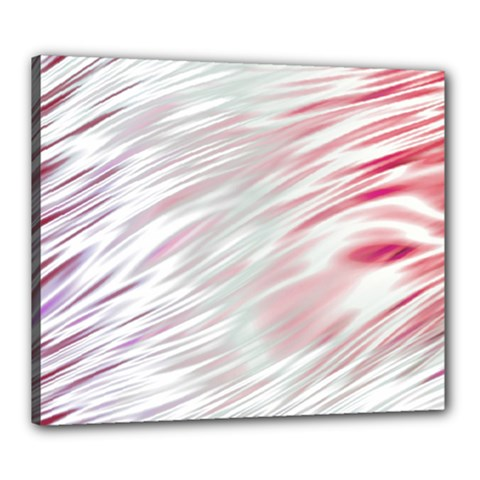 Fluorescent Flames Background With Special Light Effects Canvas 24  x 20