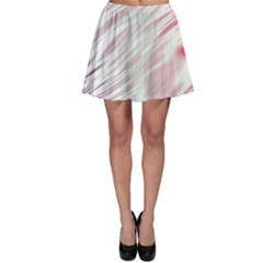 Fluorescent Flames Background With Special Light Effects Skater Skirt