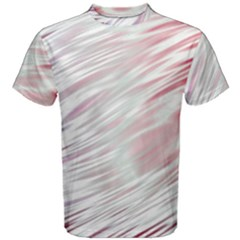 Fluorescent Flames Background With Special Light Effects Men s Cotton Tee