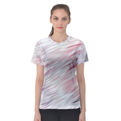 Fluorescent Flames Background With Special Light Effects Women s Sport Mesh Tee