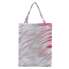 Fluorescent Flames Background With Special Light Effects Classic Tote Bag