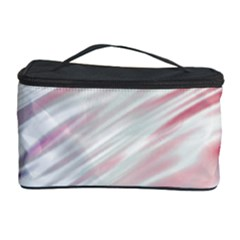 Fluorescent Flames Background With Special Light Effects Cosmetic Storage Case