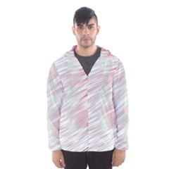 Fluorescent Flames Background With Special Light Effects Hooded Wind Breaker (Men)