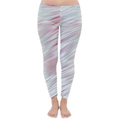Fluorescent Flames Background With Special Light Effects Classic Winter Leggings