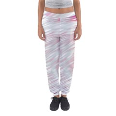 Fluorescent Flames Background With Special Light Effects Women s Jogger Sweatpants