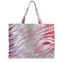 Fluorescent Flames Background With Special Light Effects Zipper Mini Tote Bag