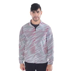 Fluorescent Flames Background With Special Light Effects Wind Breaker (Men)