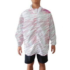 Fluorescent Flames Background With Special Light Effects Wind Breaker (Kids)