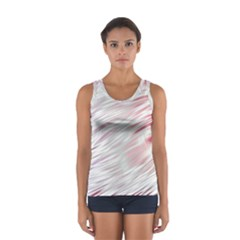 Fluorescent Flames Background With Special Light Effects Women s Sport Tank Top