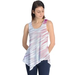 Fluorescent Flames Background With Special Light Effects Sleeveless Tunic