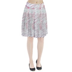 Fluorescent Flames Background With Special Light Effects Pleated Skirt