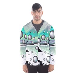 Small And Big Bubbles Hooded Wind Breaker (Men)