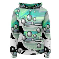 Small And Big Bubbles Women s Pullover Hoodie