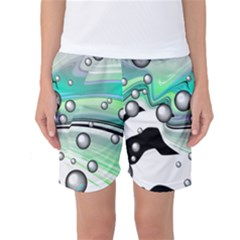 Small And Big Bubbles Women s Basketball Shorts