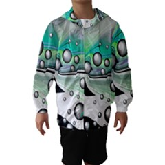 Small And Big Bubbles Hooded Wind Breaker (Kids)