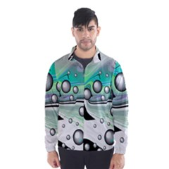 Small And Big Bubbles Wind Breaker (men)