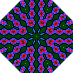Quadrate Repetition Abstract Pattern Golf Umbrellas