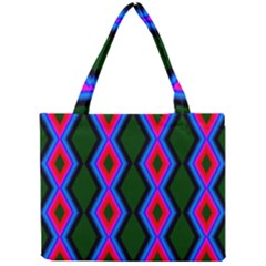 Quadrate Repetition Abstract Pattern Mini Tote Bag
