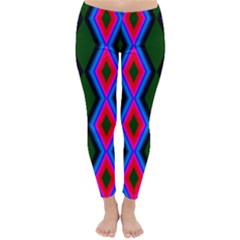 Quadrate Repetition Abstract Pattern Classic Winter Leggings