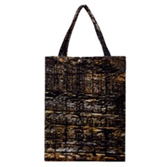 Wood Texture Dark Background Pattern Classic Tote Bag