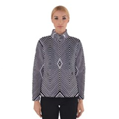 Black And White Line Abstract Winterwear