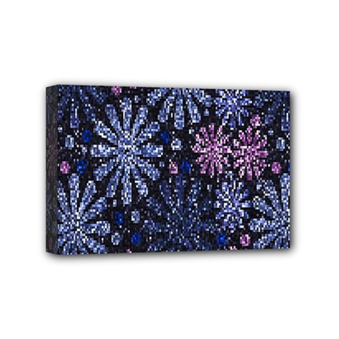 Pixel Pattern Colorful And Glittering Pixelated Mini Canvas 6  x 4